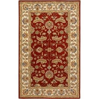 Hand-tufted Kerry Wool Rug (7'6 x 9'6)