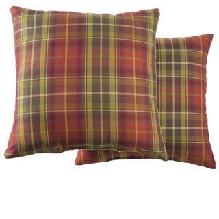 Topeka Square Decorative Pillows (Set of 2)