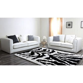 Abbyson Living Soho Italian Linen Sofa and Loveseat Set