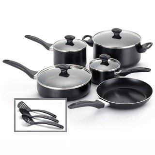 Farberware Dishwasher Safe Nonstick 12-Piece Cookware Set