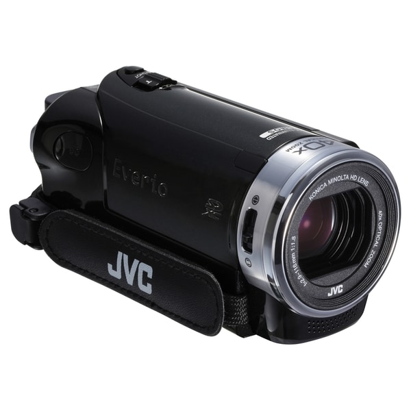"JVC Everio GZ-E200 Digital Camcorder - 3"" - Touchscreen LCD - CMOS -"