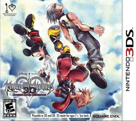 Nintendo 3DS - Kingdom Hearts: Dream Drop Distance