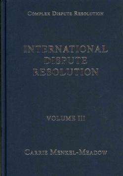 International Dispute Resolution (Hardcover)