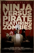 Ninja Versus Pirate Featuring Zombies (Paperback)