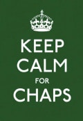 Keep Calm for Chaps: Good Advice for Hard Times (Hardcover)