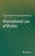 International Law of Victims (Hardcover)