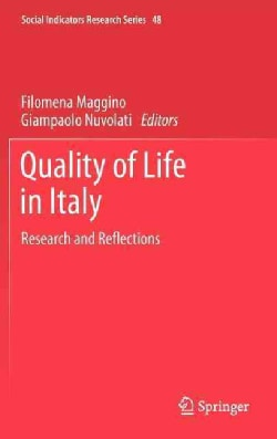 Quality of Life in Italy: Research and Reflections (Hardcover)