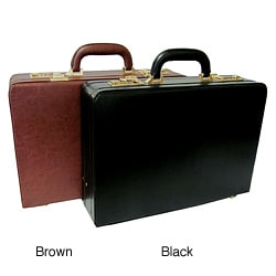 Amerileather Executive Faux Leather Attache Briefcase