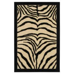 Perception Animal Print Rug (5' x 8')