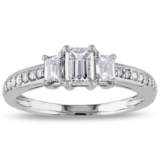 Miadora 14k White Gold 1ct TDW Diamond Ring (G-H, I1 I2)