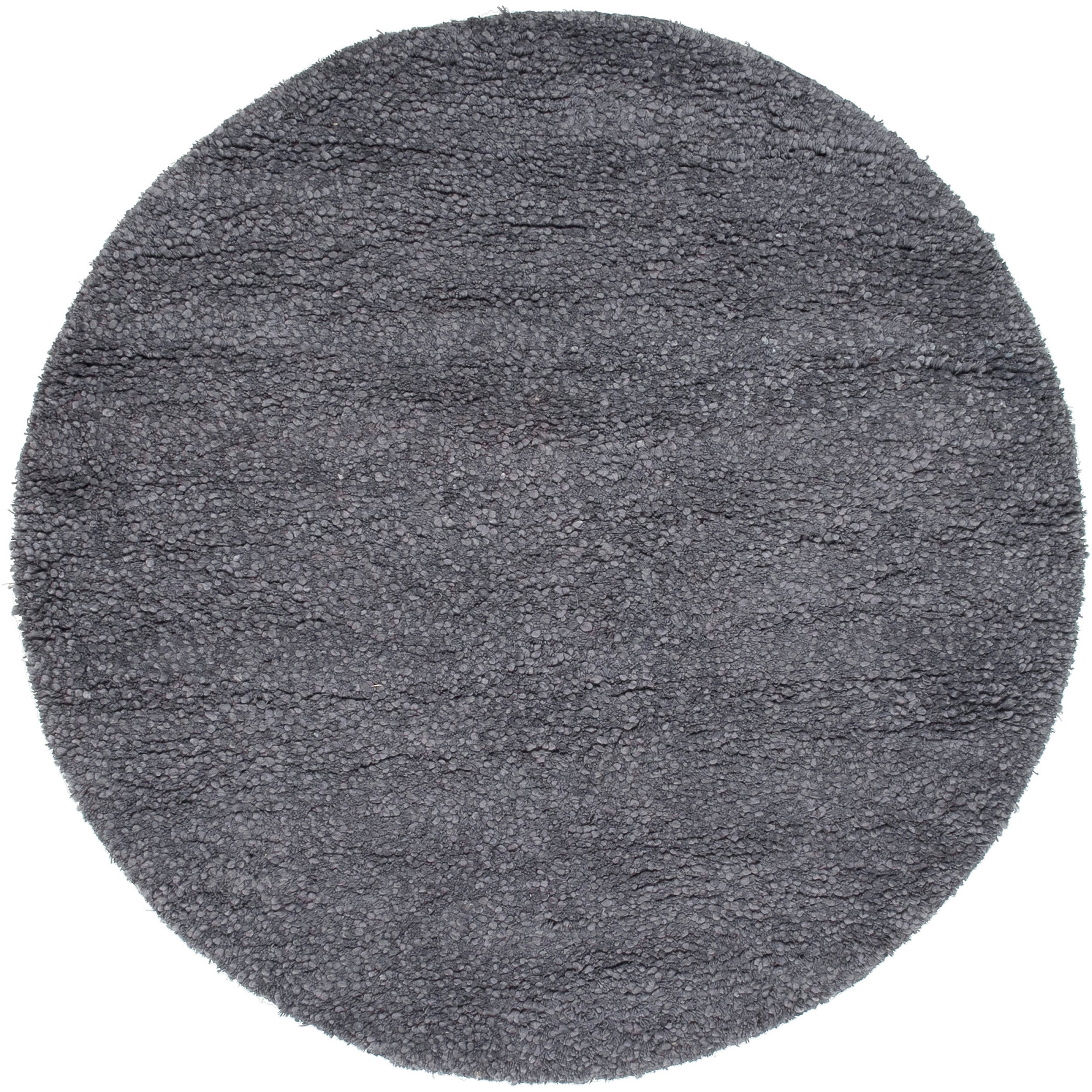 Hand-woven Metropolitan New Zealand Wool Plush Shag Rug (8