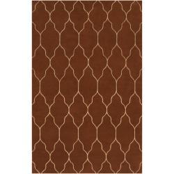 Hand Knotted Stubai Wool Rug (9' x 13')