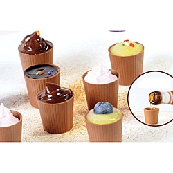 Lang's Chocolates 32 Milk Chocolate Dessert Cups