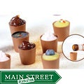 Lang's Chocolates 64 Milk Chocolate Dessert Cups