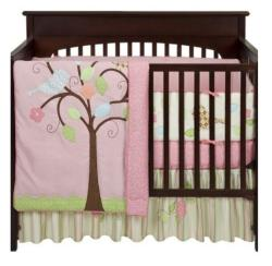 BananaFish Love Bird 3-piece Crib Bedding Set