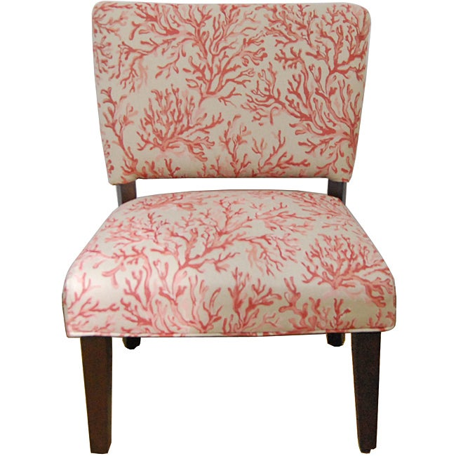 Floral Fabric Gigi Accent Chair Overstock Shopping Great Deals On Homepop Living Room Chairs