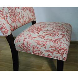 Floral Fabric Gigi Accent Chair