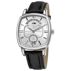 Grovana Men's 1717.1532 'Traditional' Silver Dial Quartz Watch