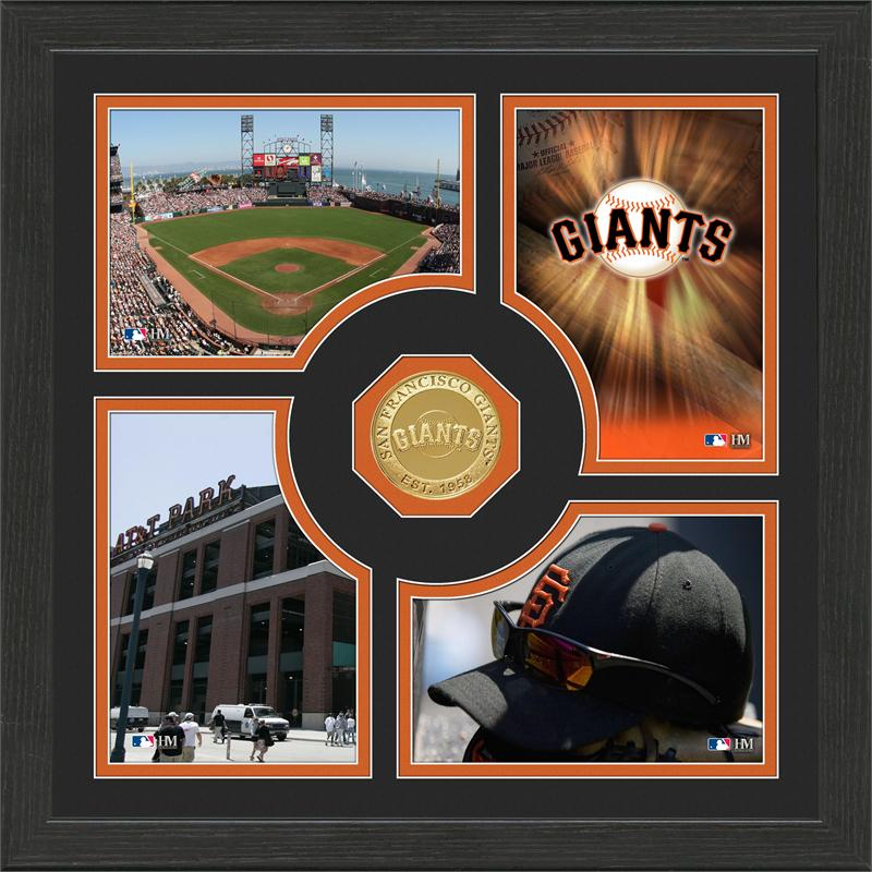 Highland Mint San Francisco Giants 'Fan Memories' Minted Coin Photo Frame
