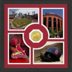 Highland Mint St. Louis Cardinals 'Fan Memories' Minted Coin Photo Frame