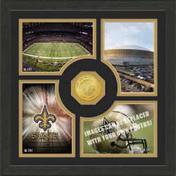 Highland Mint New Orleans Saints 'Fan Memories' Minted Coin Photo Frame