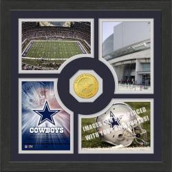 Highland Mint Dallas Cowboys 'Fan Memories' Minted Coin Photo Frame