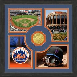 Highland Mint New York Mets 'Fan Memories' Minted Coin Photo Frame