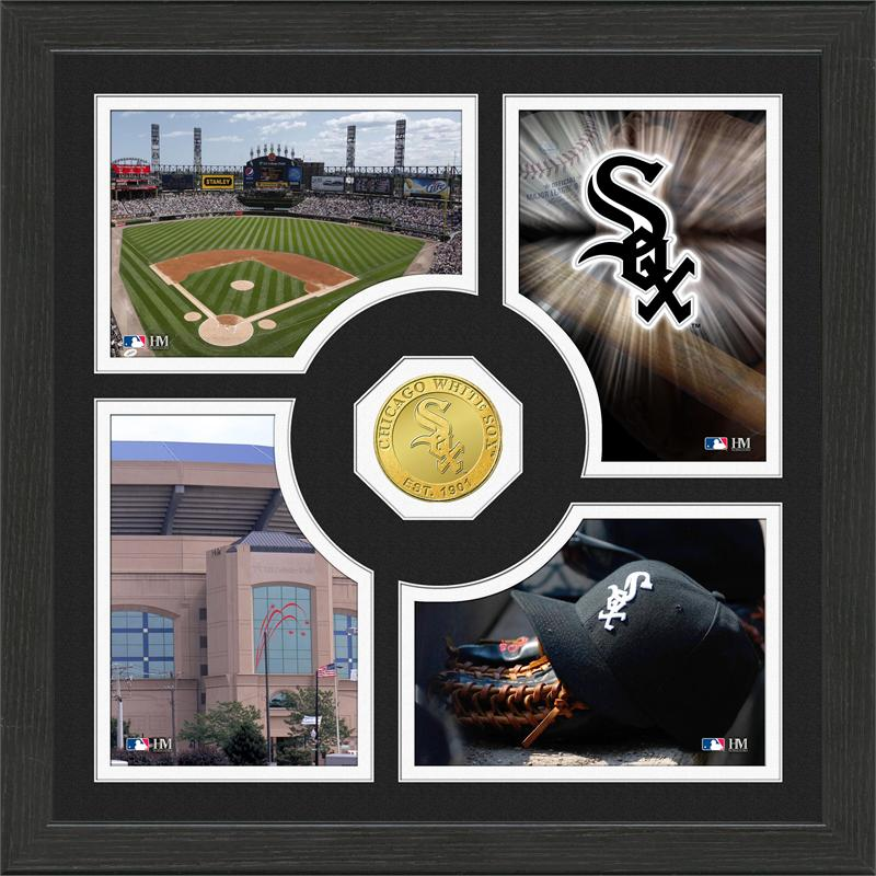 Highland Mint Chicago White Sox 'Fan Memories' Minted Coin Photo Frame