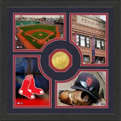 Highland Mint Boston Red Sox 'Fan Memories' Minted Coin Photo Frame