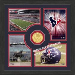 Highland Mint Houston Texans 'Fan Memories' Minted Coin Photo Frame