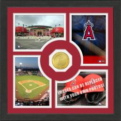 Highland Mint Los Angeles Angels 'Fan Memories' Minted Coin Photo Frame