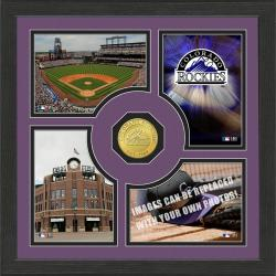 Highland Mint Colorado Rockies 'Fan Memories' Minted Coin Photo Frame