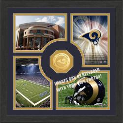 Highland Mint St. Louis Rams 'Fan Memories' Minted Coin Photo Frame