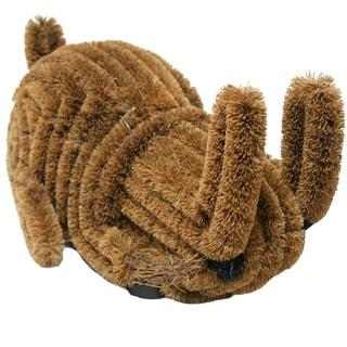 Rubber-Cal Outdoor 'Bunny' Coconut Coir Boot Brush