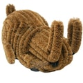 Outdoor 'Bunny' Coconut Coir Boot Brush