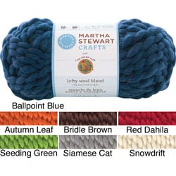 Lion Brand Martha Stewart Lofty Wool Blend Yarn