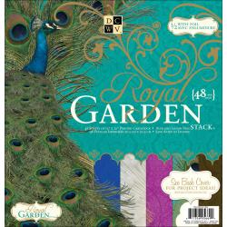 Die Cuts with a View 'Royal Garden' Paper Stack (Pack of 48 sheets)