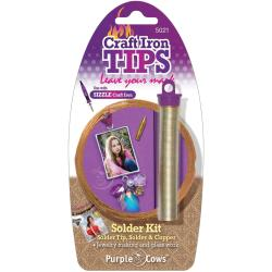 Purple Cows Craft Iron Solder Kit