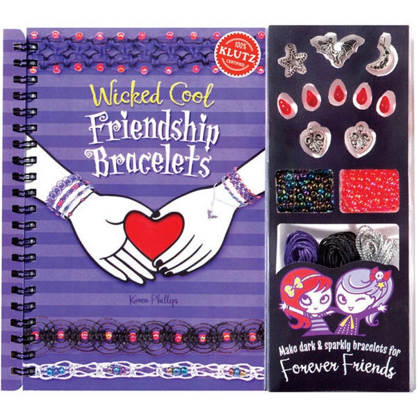 Klutz 'Wicked Cool Friendship Bracelets Book' Kit