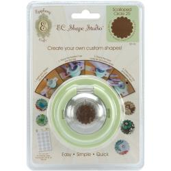 Epiphany Crafts Shape Shape Studio Scallop Circle Tool