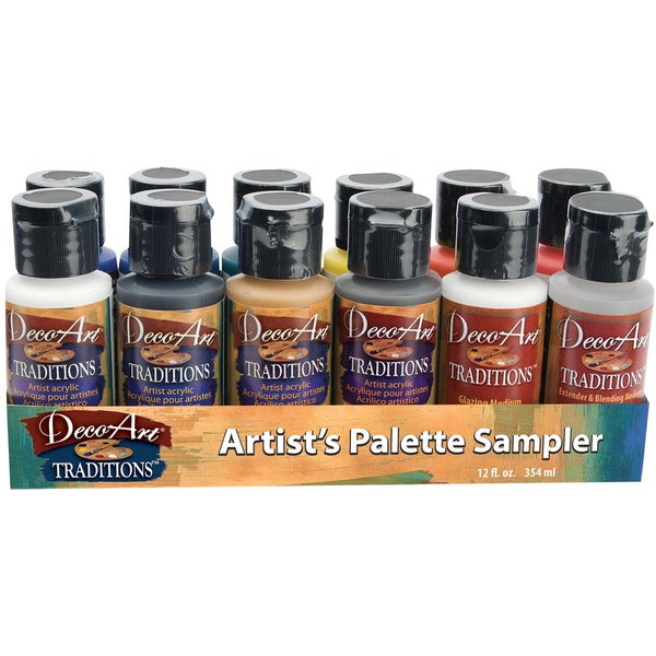 Deco Art Traditions Acrylic Palette Sampler
