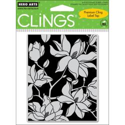 Hero Arts Large Blossom Cling Stamps