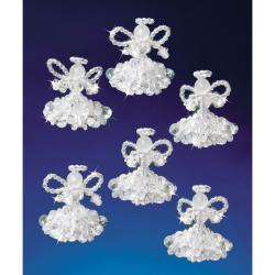 Crystal Angels Holiday Beaded Ornament Kit
