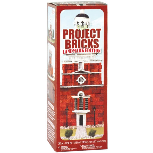 Floracraft Make It Fun Project Bricks Landmark Edition (Pack of 285)