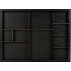 Shadowbox Tray-Black