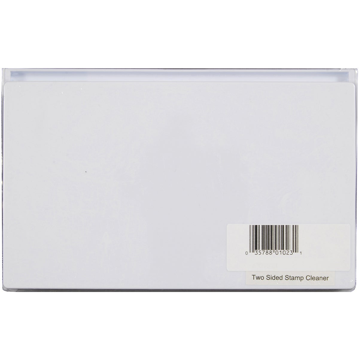 Hot Off The Press White Two-sided Plastic Decorative Stamp Cleaner