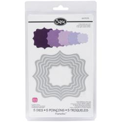 Sizzix Framelits Fancy Label Die Cuts Package of 5