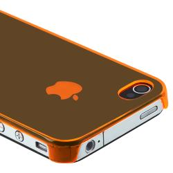 Orange Snap-on Slim-fit Case for Apple iPhone 4/ 4S
