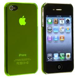 Yellow Snap-on Slim-fit Case for Apple iPhone 4/ 4S