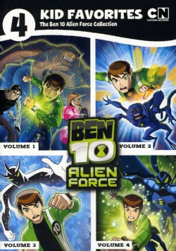 4 Kid Favorites: Ben 10 Alien Force (DVD)